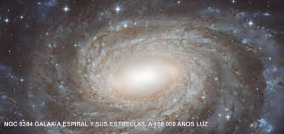 ngc6384_Galaxia Espiral y sus estrellas a 150000 años luz