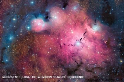 NGC6559-Simeis 188 con sus estrellas y gases
