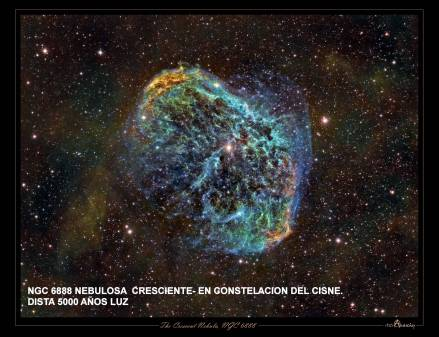 NGC6888 Nebula en Cresciente