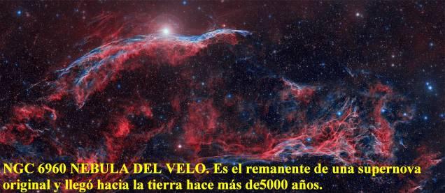 NGC6960 nebula del velo
