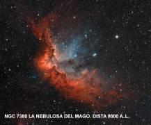 ngc7380 Nebulosa del Mago a 8000 años luz