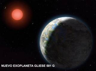 Nuevo planeta gliese581 g
