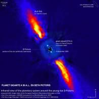 Planeta gigante a 50a.l. en Beta Pictoris