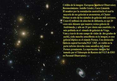 Cúmulo de Galaxias y sus formas