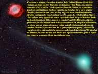 Cometa PanStarrs y nebula Helix