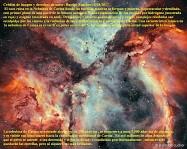 Estrellas, gas y lucha contra el polvo en la nebulosa Carina