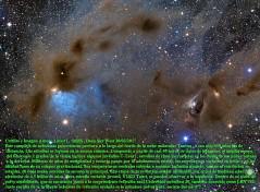 Estrellas jóvenes y Dusty nebulosas en Tauro