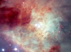 Estrellas rapidas y Rouge Los Planetas en la nebulosa de Orión