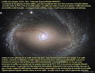 Galaxia Espiral NGC 1512-El anillo interior