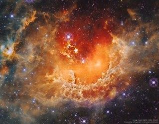 IC 410 La formación de estrellas en la nebulosa Renacuajo
