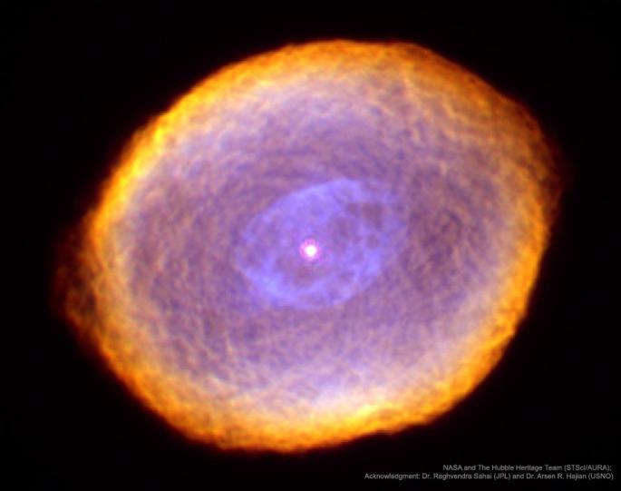 IC 418- LA NEBULOSA DE LA SPIROGRAPH