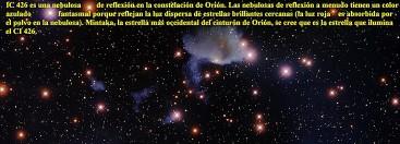IC426 Nebulosa de Reflexion en Oirion