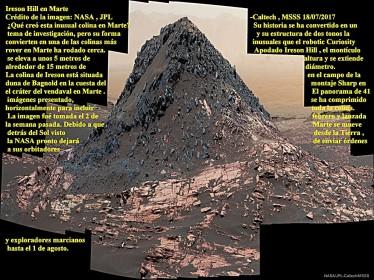 IresonHill_Curiosity en Marte