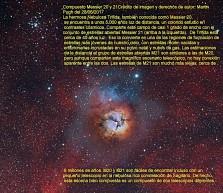 M20_M21 Nebulosa Trifida