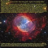 M27 NO ES UN COM ETA-ES Nebulosa Dumbbell
