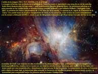 M42 La nebulosa de Orión en infrarrojo de HAWK-I
