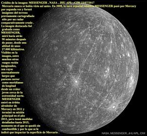 Mercurio como lo revela MESSENGER