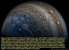 Nave Juno orbita Jupiter