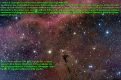 Nebulosa oscura LDN 1622 y Bucle de Barnard