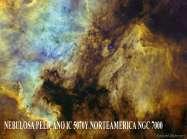 Nebulosa Pelicano y NorteAmerica-1