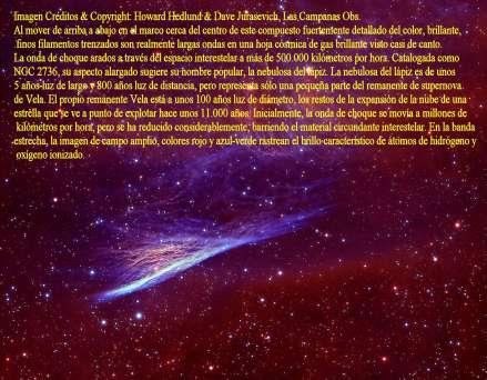 NGC 2736- La Nebulosa del Lápiz