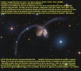 NGC 4038 Y 4039 GALAXIAS ESTAN CHOCANDO