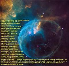 NGC 7635-La nebulosa de la burbuja