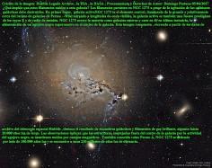 NGC1275_Filamentos de Galaxia activa