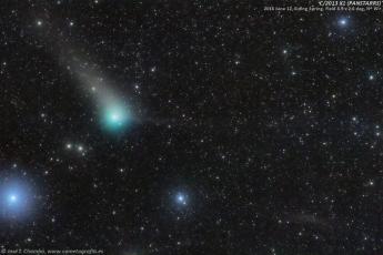 Pan-Starrs cometa en el Pez del Sur C-2013 X1