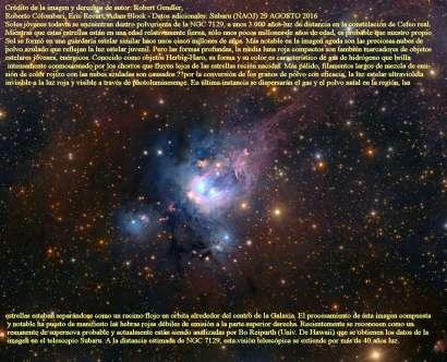 SOLES JOVENES EN NGC 7128
