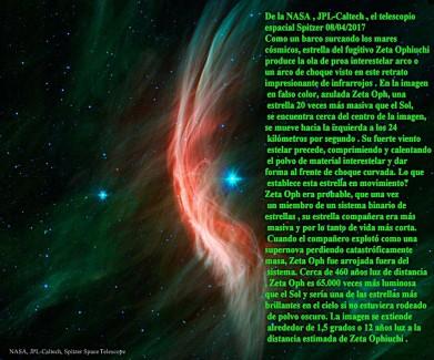 Zeta Oph- Fugitivo de la estrella