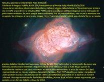 Nebulosa planetaria brillante NGC 7027 de Hubble