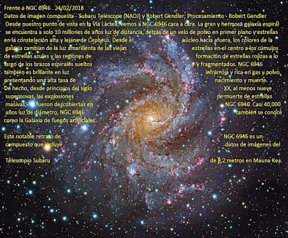 NGC6946-GALAXIA ESPIRAL DE FRENTE