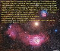 Marte entre las nebulosas