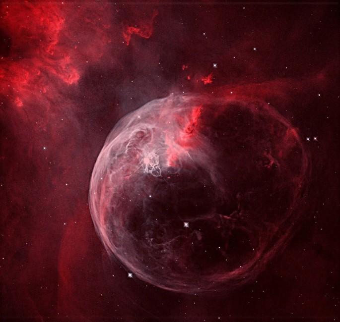 NGC7635 NEBULOSA DE LA BURBUJA