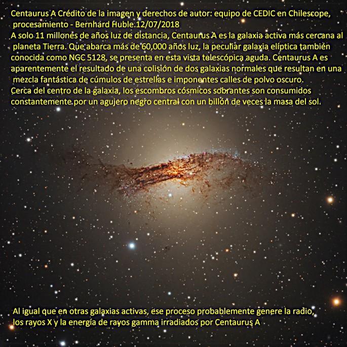 NGC 5128 CENTAURUS